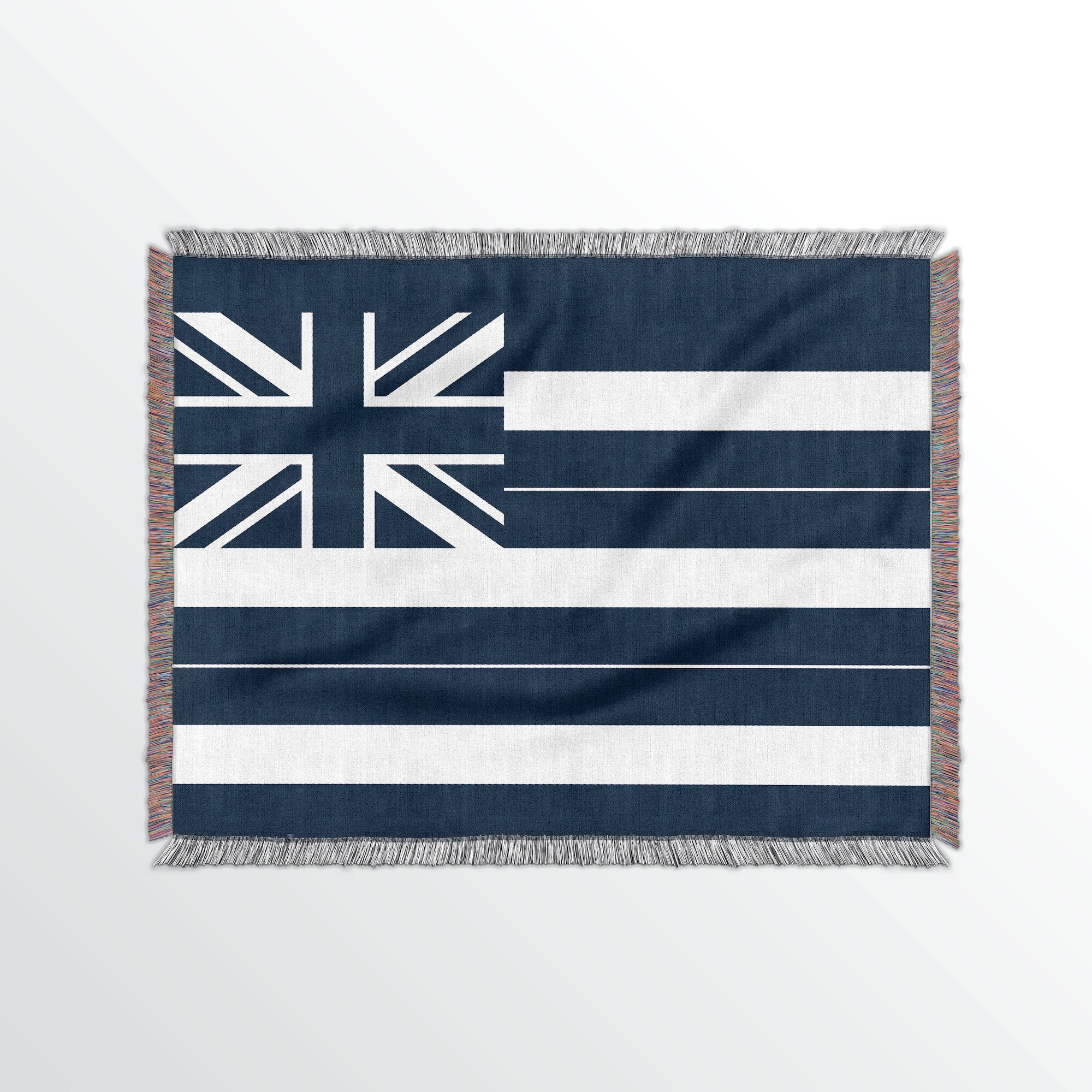Hawaii State Woven Cotton Blanet - Point Two Design