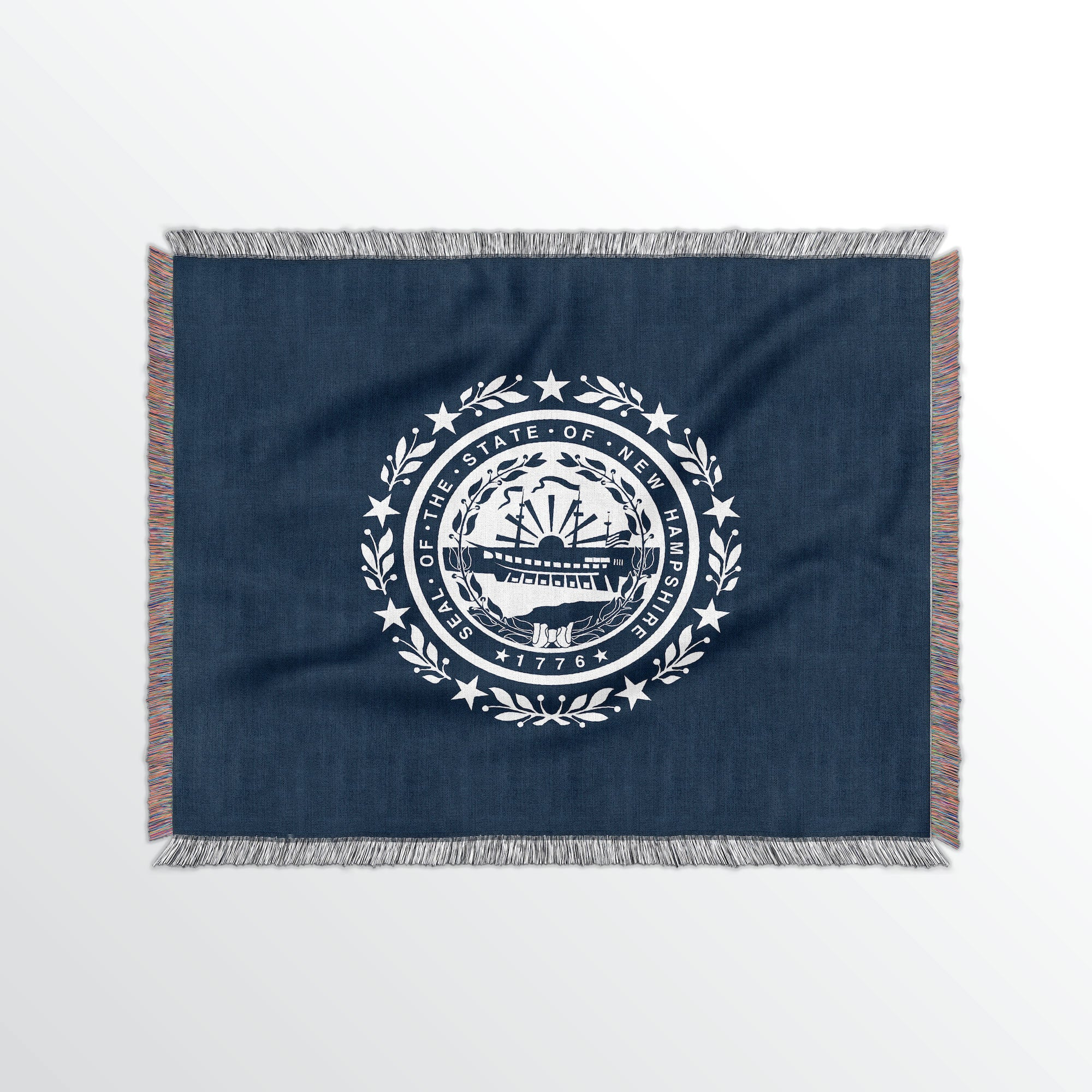New Hampshire State Woven Cotton Blanet - Point Two Design