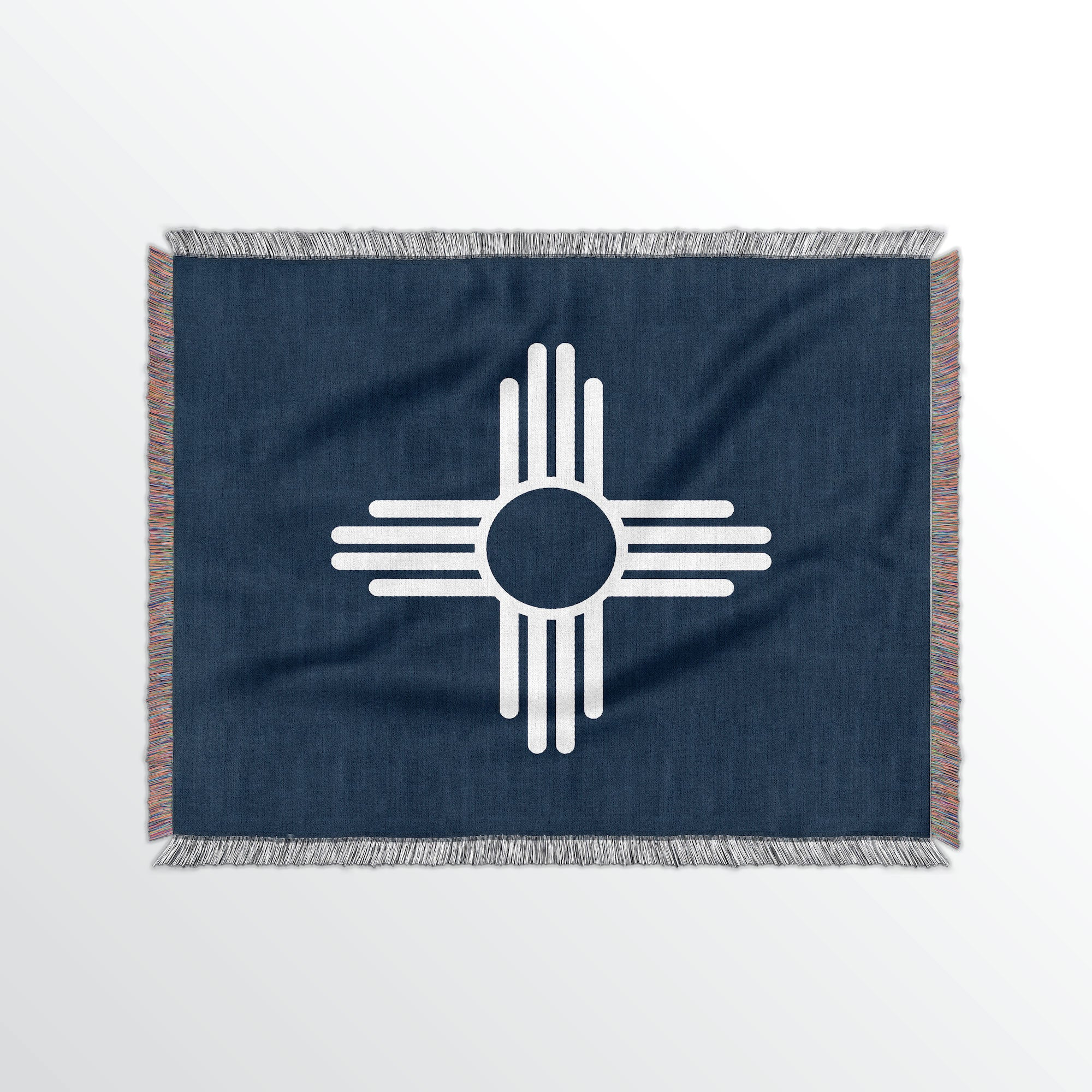 New Mexico State Woven Cotton Blanet - Point Two Design