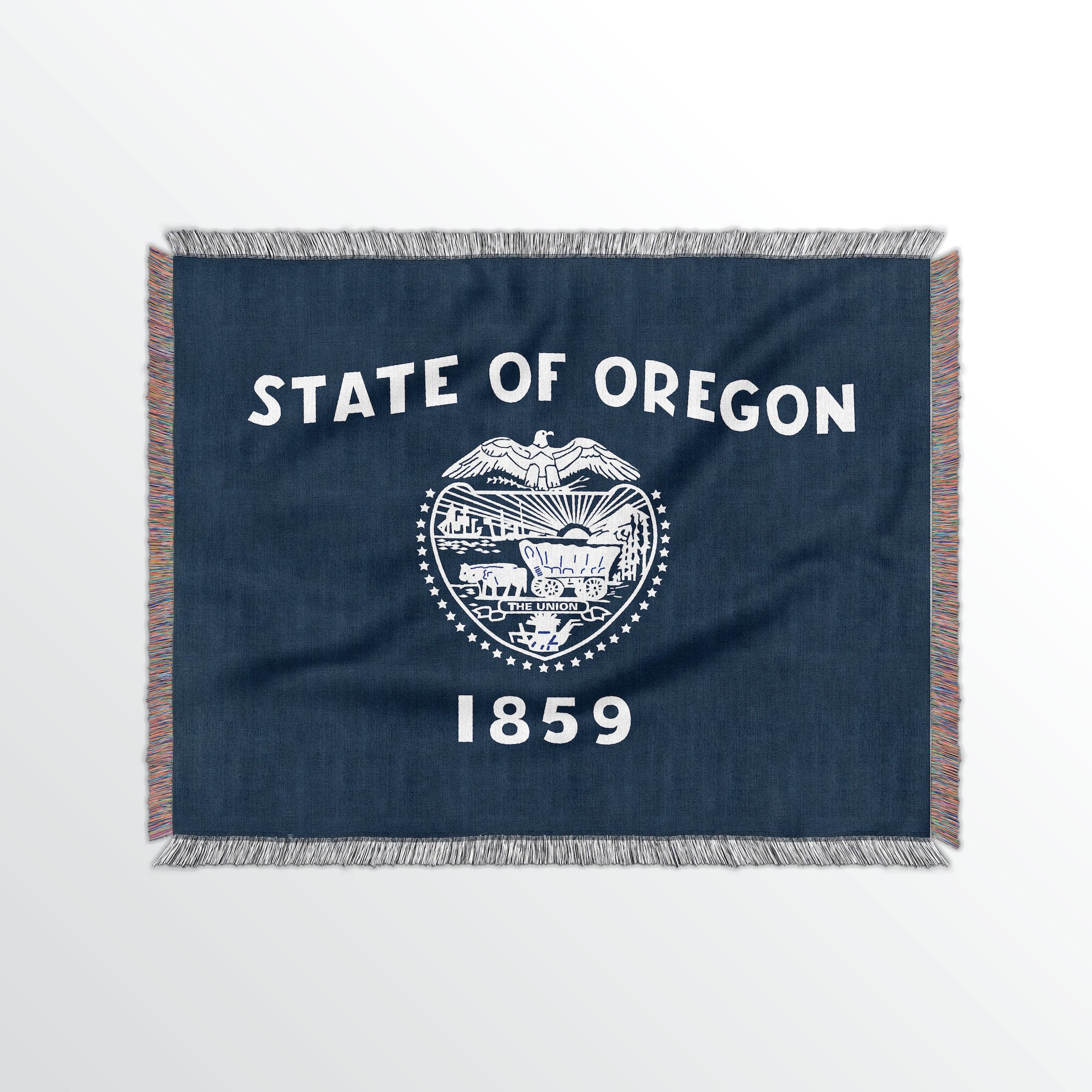 Oregon State Woven Cotton Blanet - Point Two Design