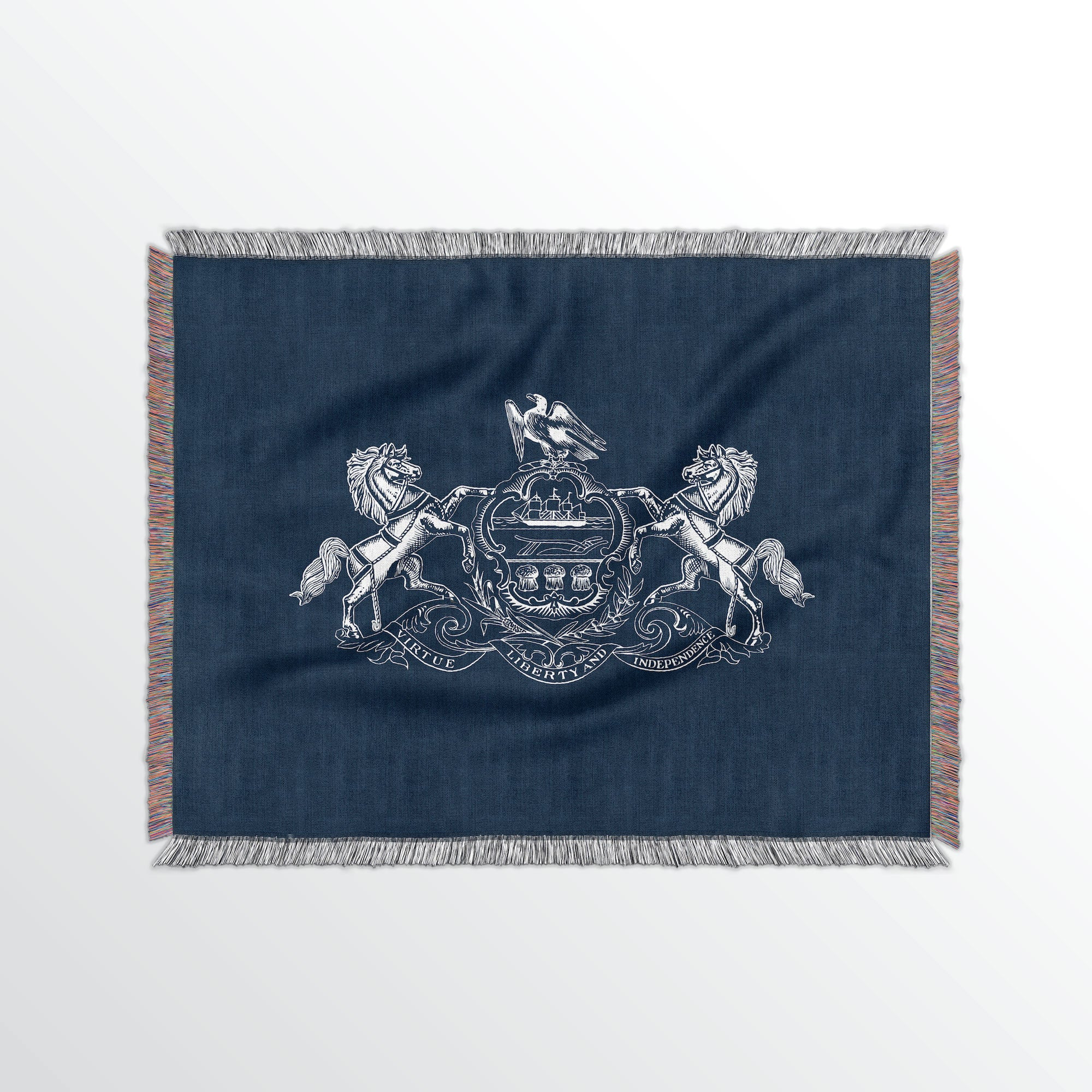 Pennsylvania State Woven Cotton Blanet - Point Two Design