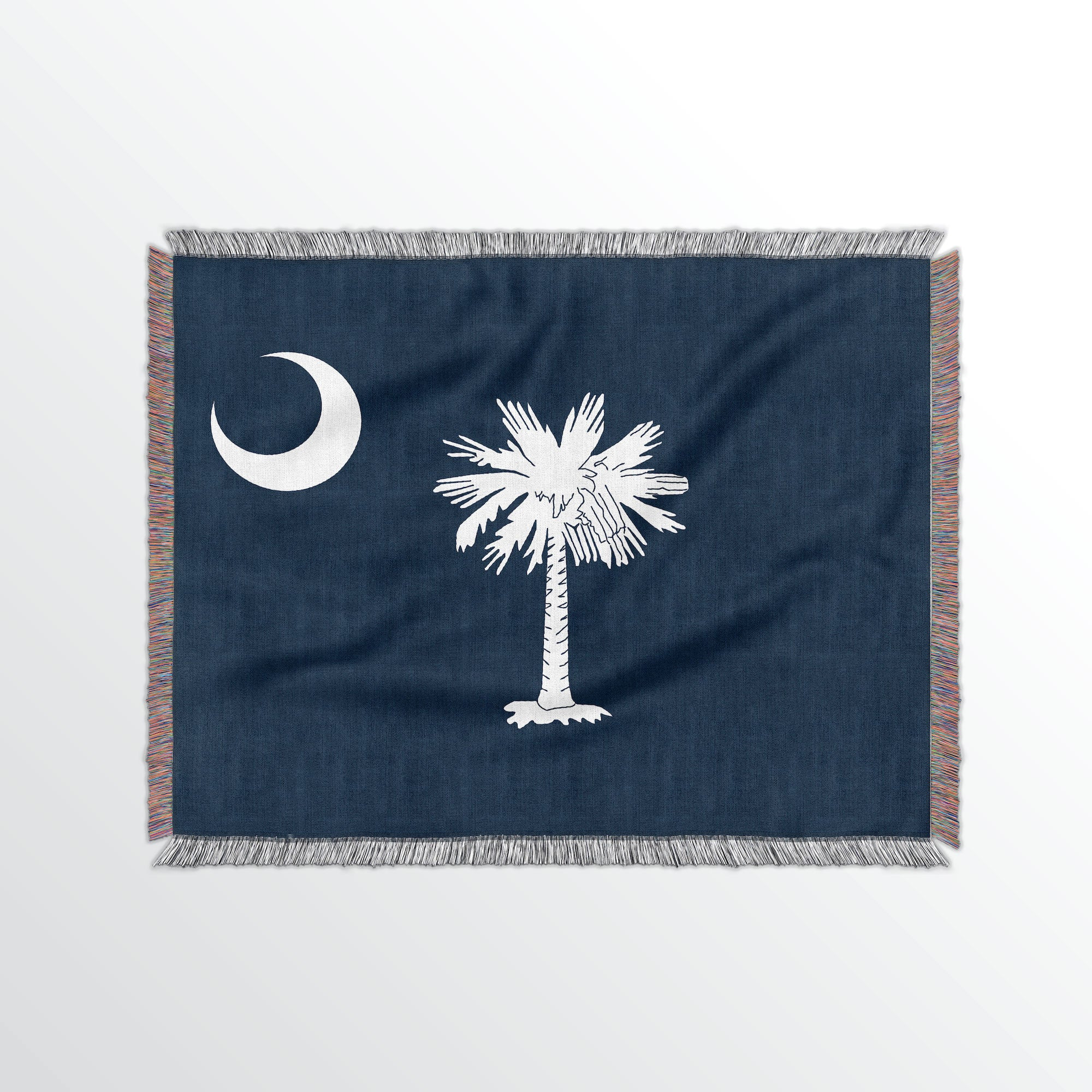South Carolina State Woven Cotton Blanet - Point Two Design