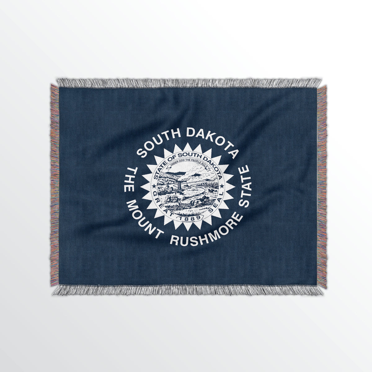South Dakota State Woven Cotton Blanet - Point Two Design