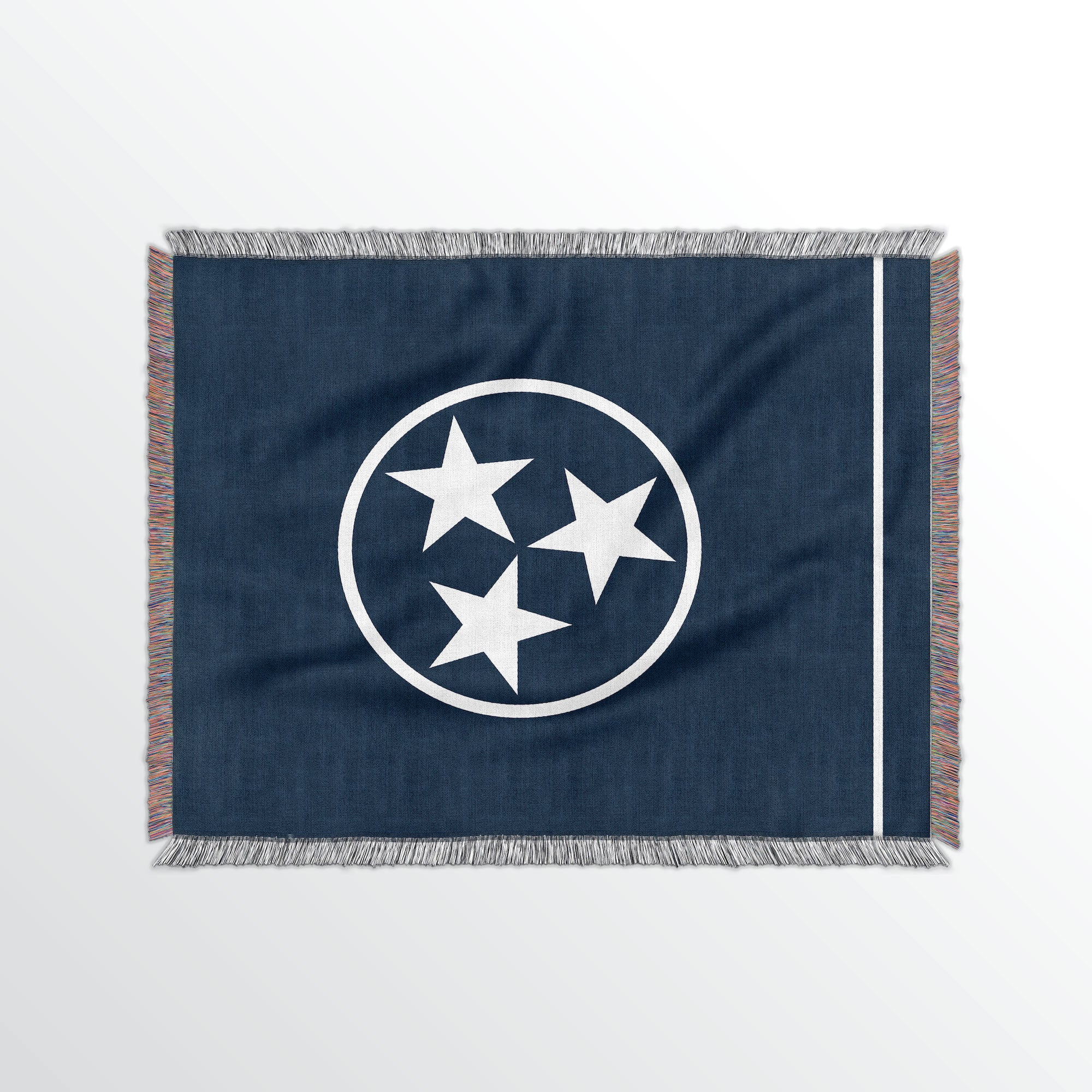 Tennessee State Woven Cotton Blanet - Point Two Design