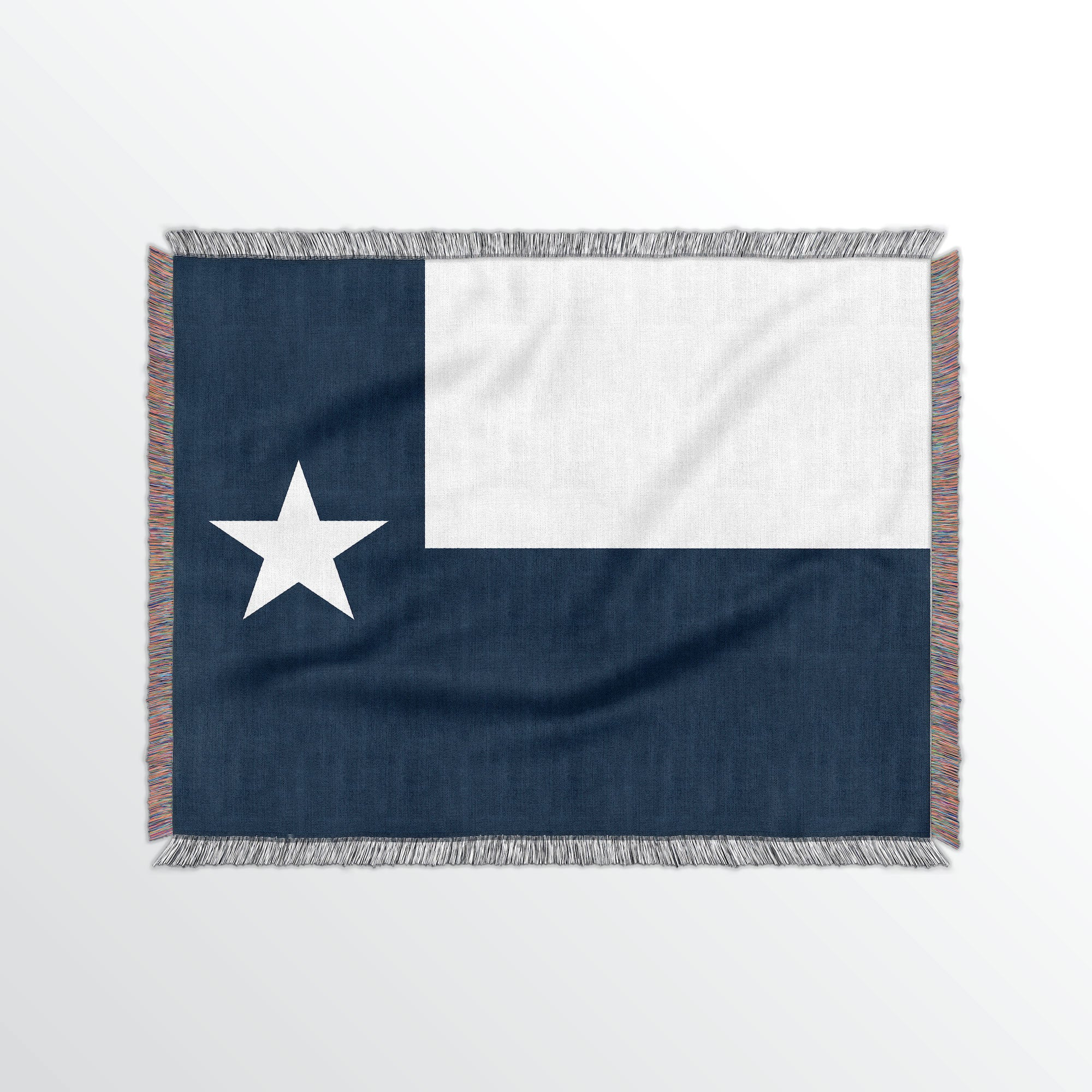Texas State Woven Cotton Blanet - Point Two Design