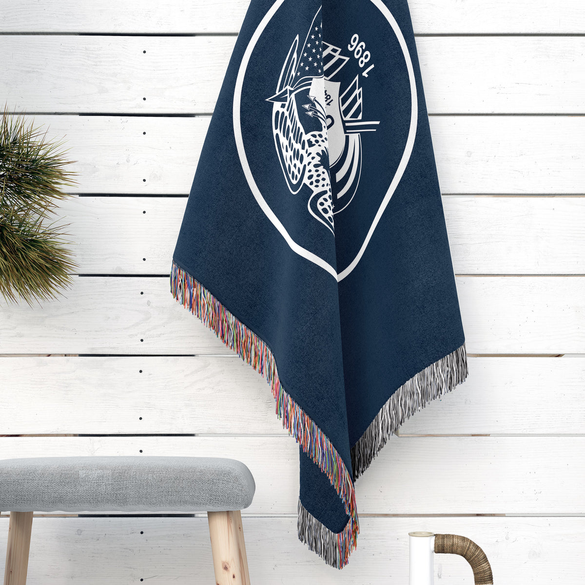 Utah State Woven Cotton Blanet - Point Two Design