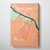 Bouldin Neighbourhood of Austin Map Canvas Wrap - Point Two Design