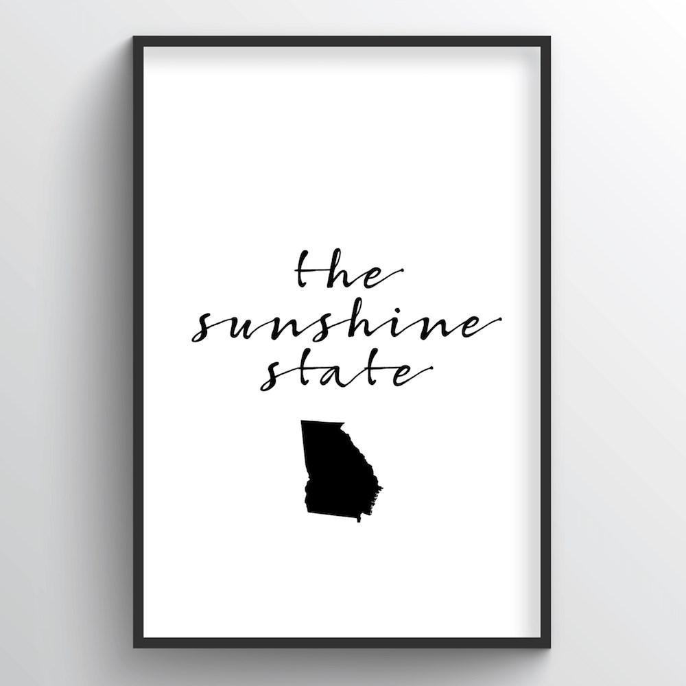 "Georgia Word Art - ""Slogan"""
