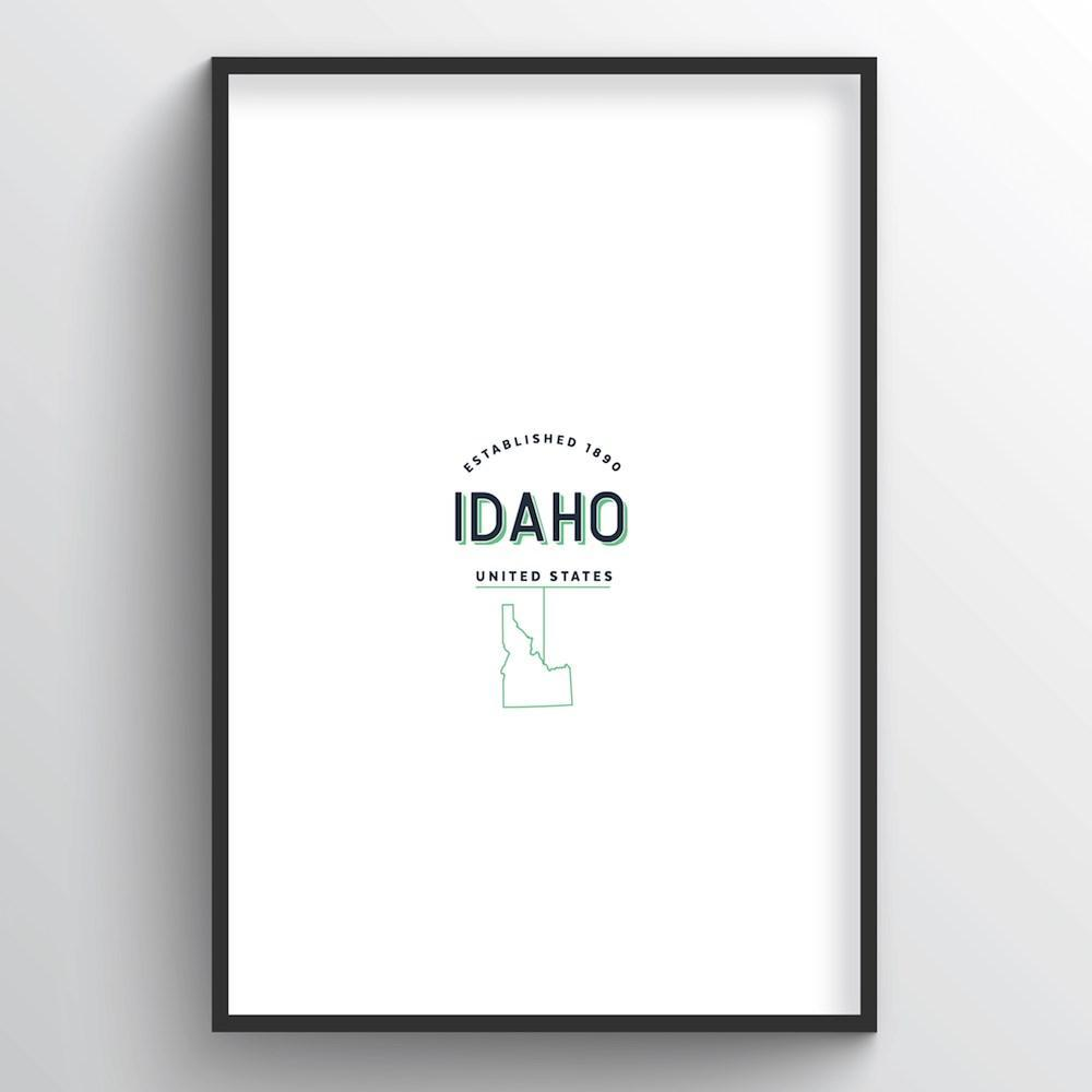 Idaho Word Art