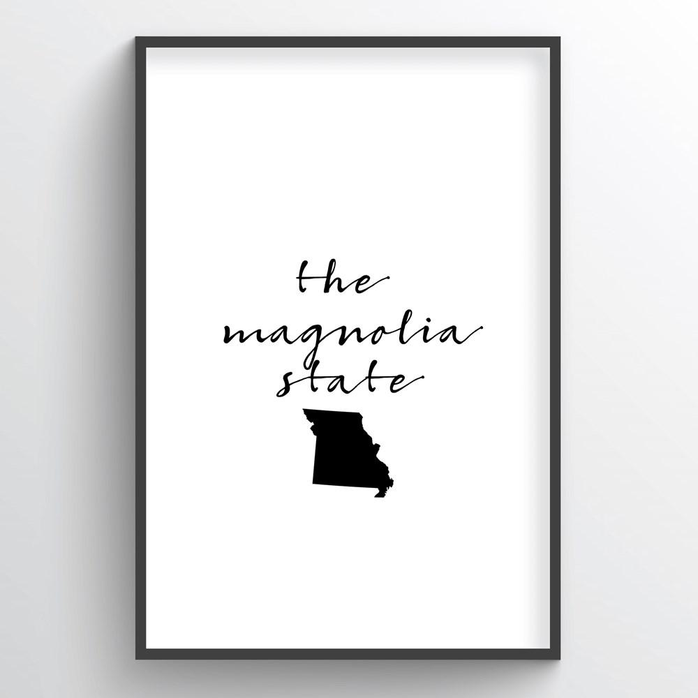 "Missouri Word Art - ""Slogan"""