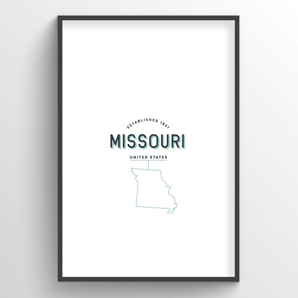 Missouri Word Art