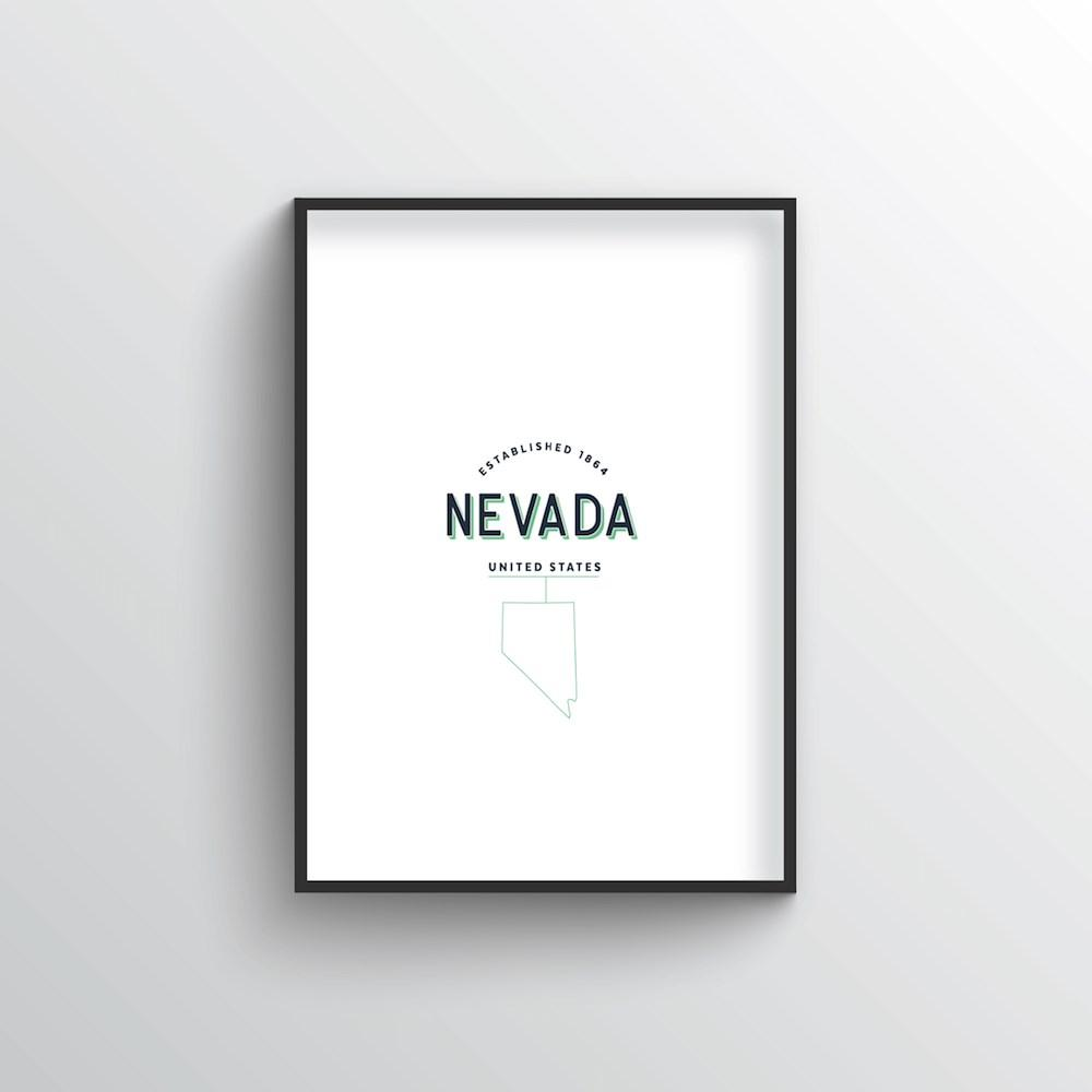 Nevada Word Art