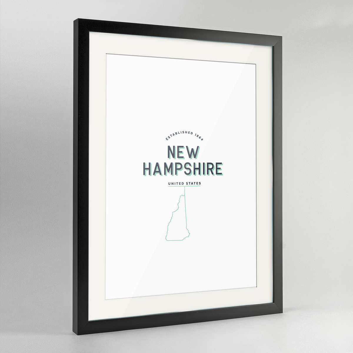 New Hampshire Word Art