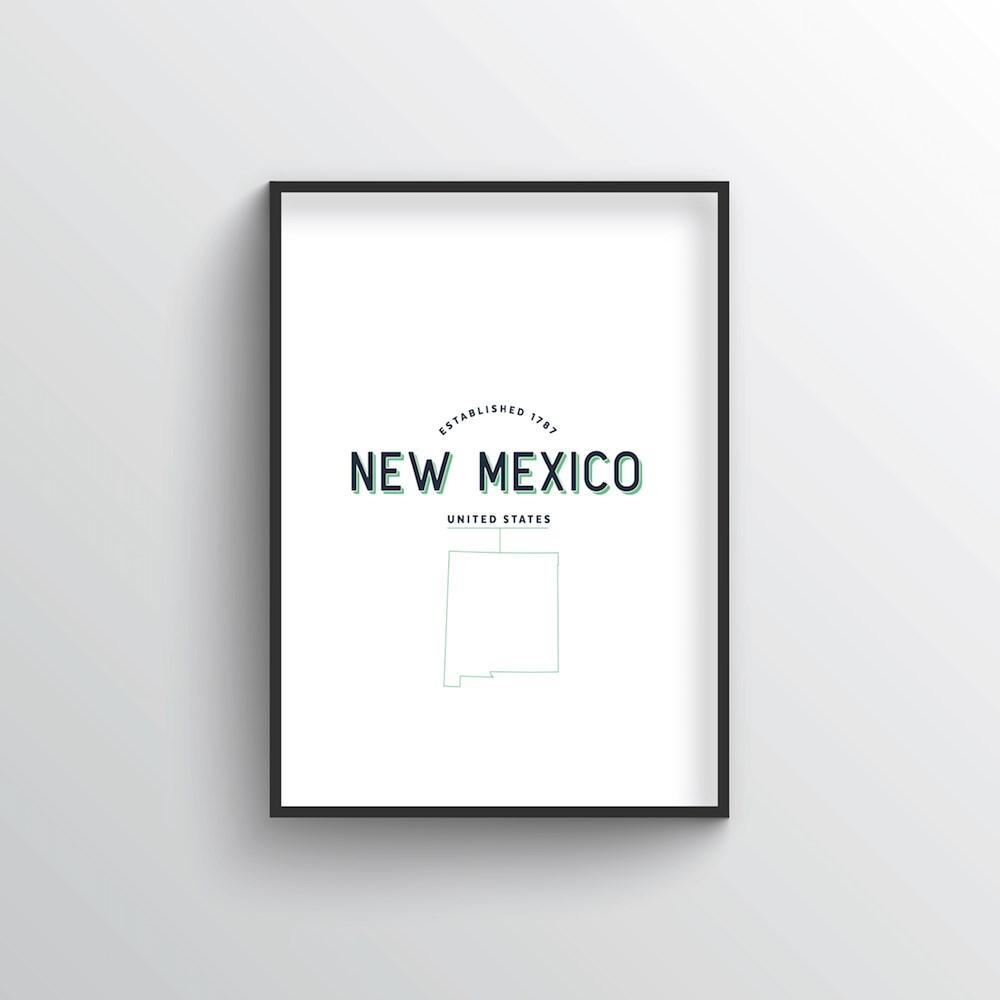 New Mexico Word Art