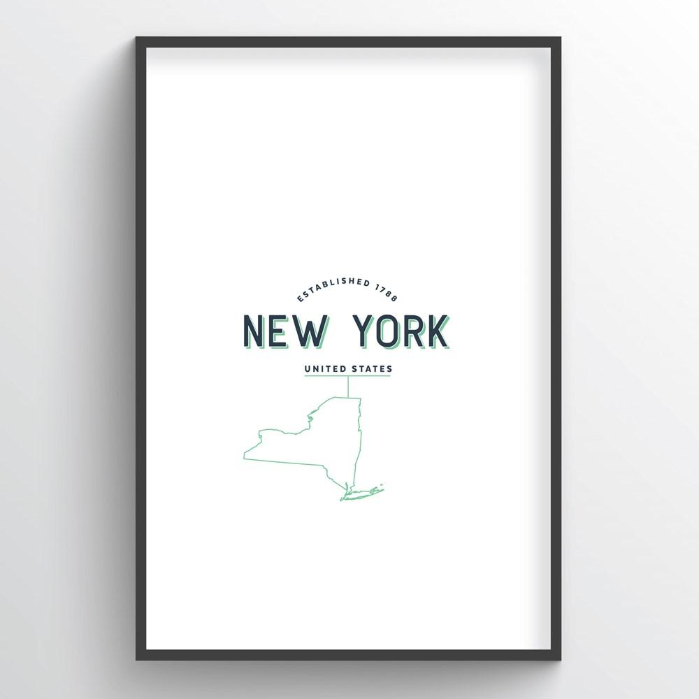 New York Word Art