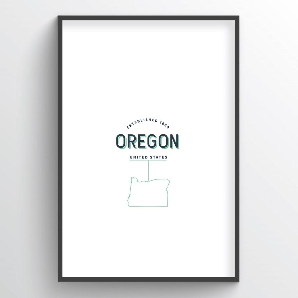 Oregon Word Art