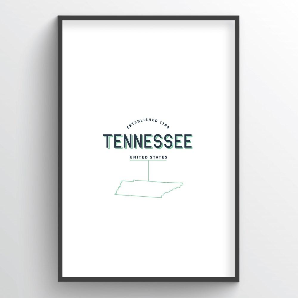 Tennessee Word Art