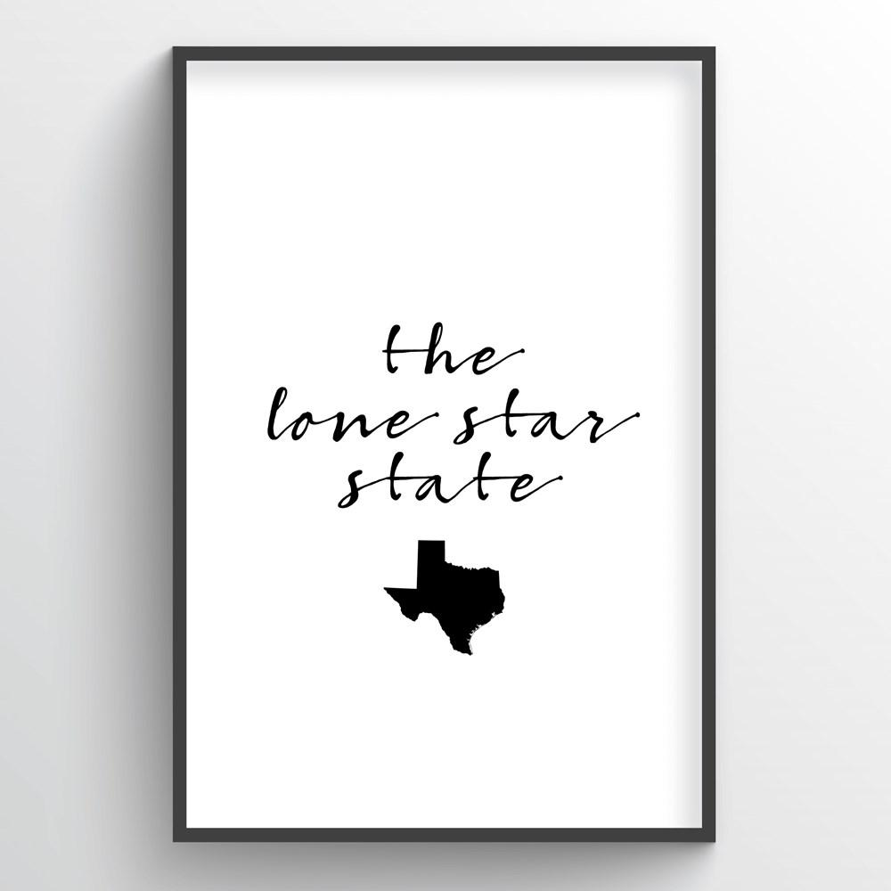 "Texas Word Art - ""Slogan"""