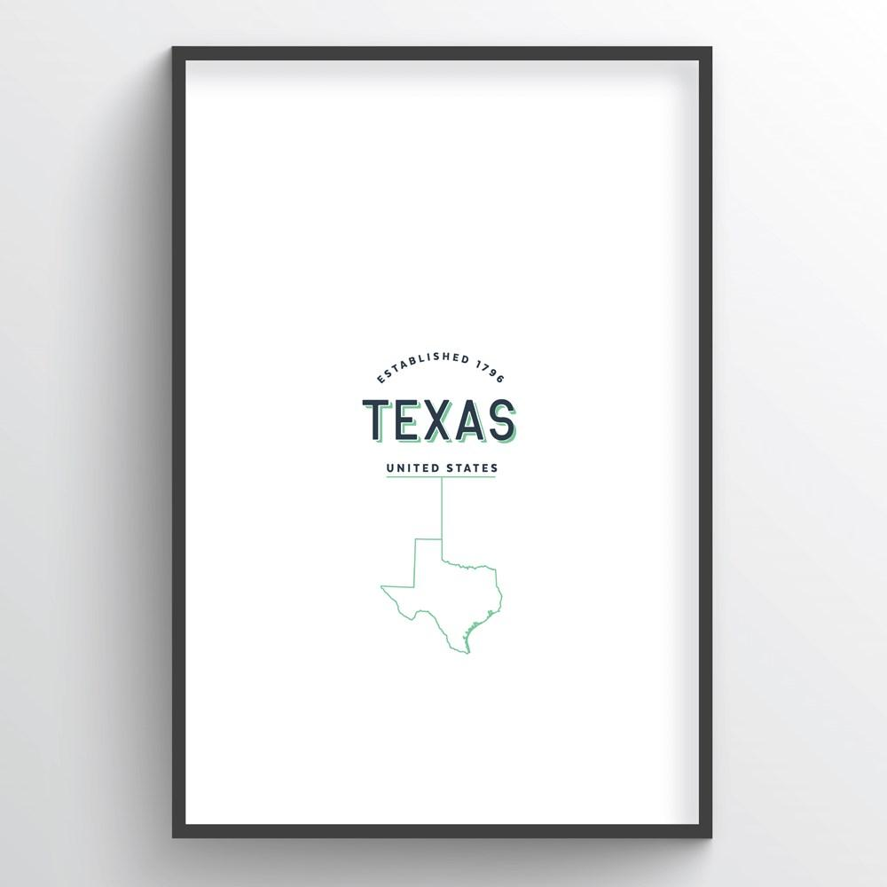 Texas Word Art