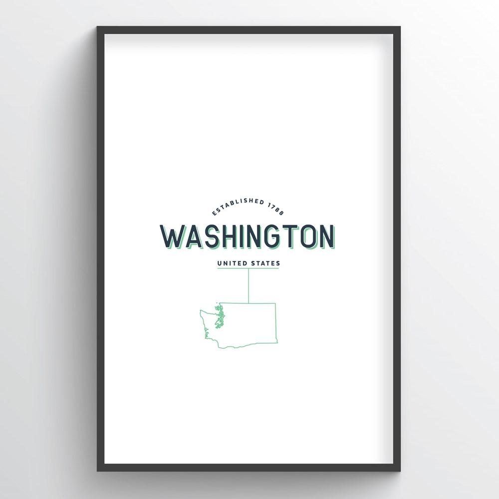 Washington Word Art