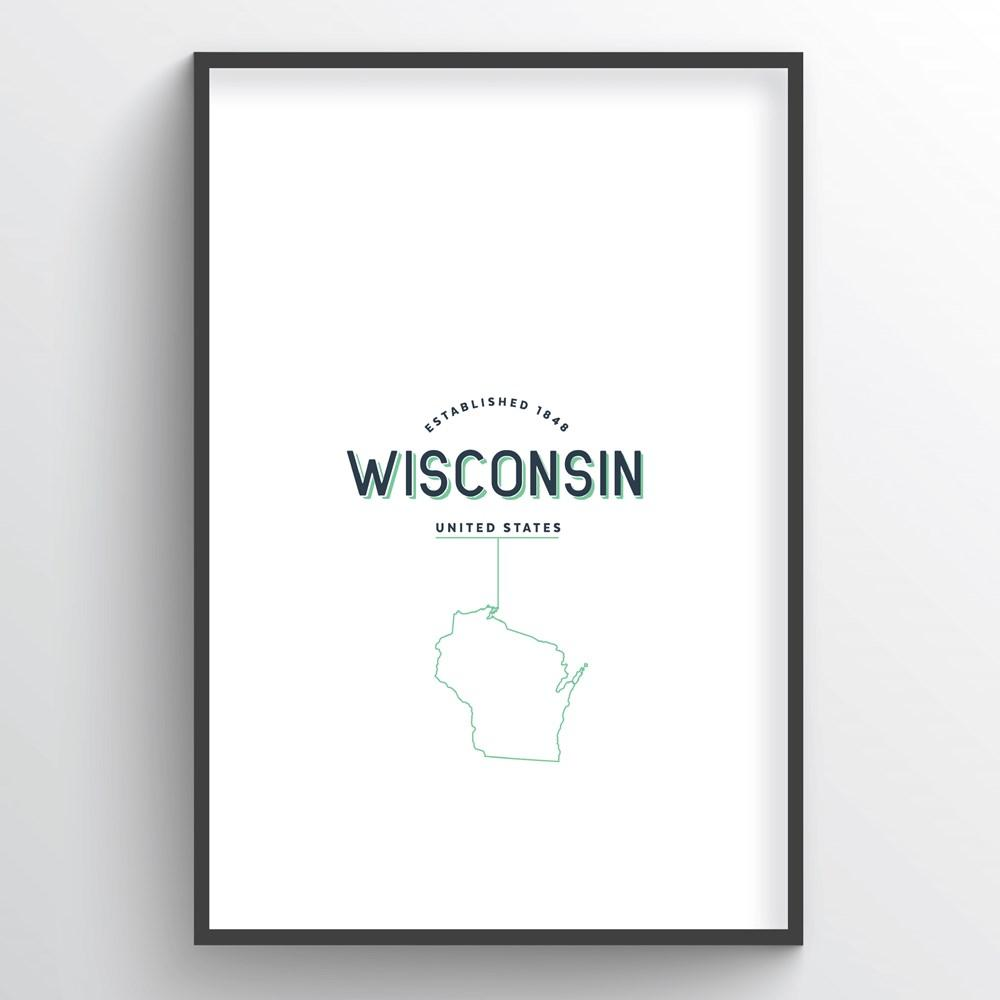 Wisconsin Word Art
