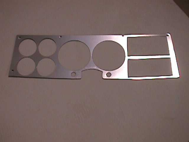81-87 Dash Bezel Covers
