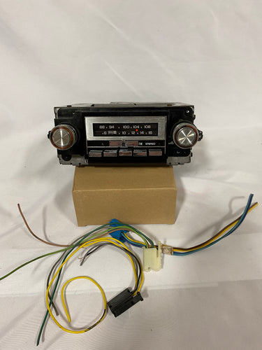 1973-1987 Reconditioned AM/FM Factory OEM Radio