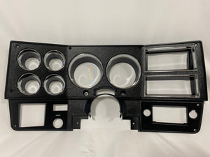 81-83 Dash Bezel with Wiper Hole