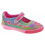 Lelli Kelly Rainbow Hearts Multi Glitter