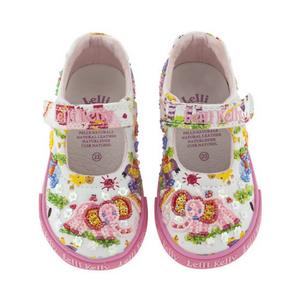 Lelli Kelly Canvas Zoo Dolly Shoes - Elephant