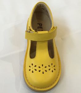 Petasil Cecily yellow leather