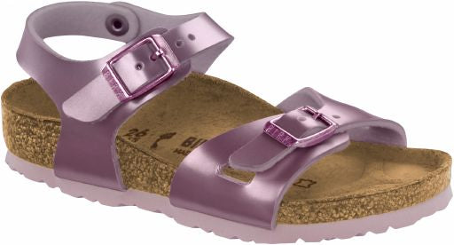 Birkenstock Rio Electric Metallic Lilac