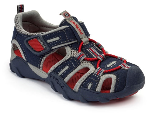 Pediped Canyon Sandal Navy/Red