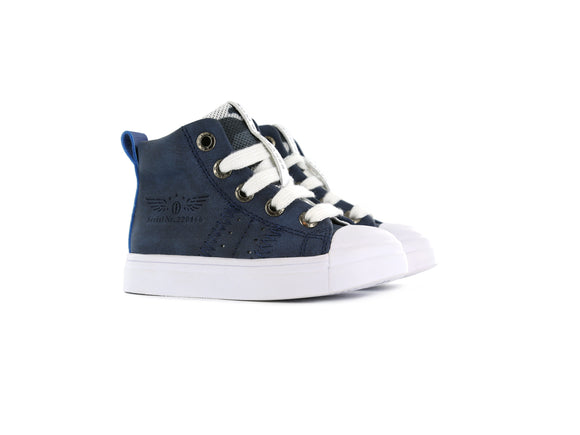 Shoesme Hi-top Sneaker Navy
