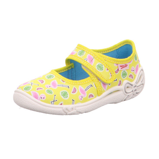 Superfit Canvas Belinda Yellow Flamingos