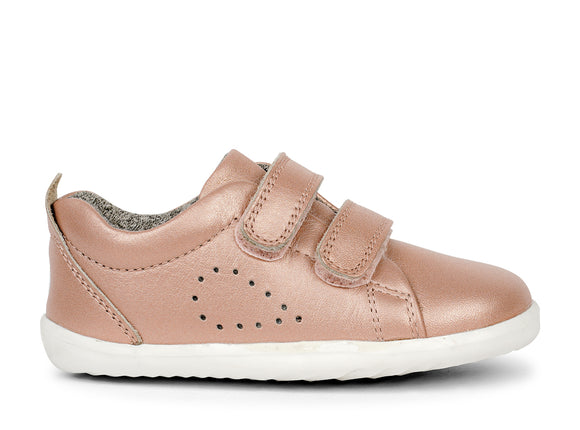 Bobux Step-Up Grass Court Rose Gold