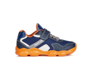 Geox Munfrey Trainer Navy/orange