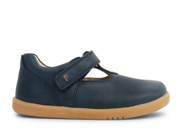 Bobux Iwalk Louise T-bar Navy