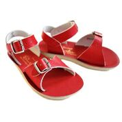 Saltwater Surfer Sandal Red