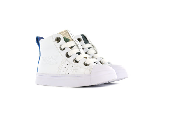 Shoesme Hi-top Sneaker White