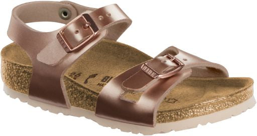 Birkenstock Rio Electric Metallic Copper
