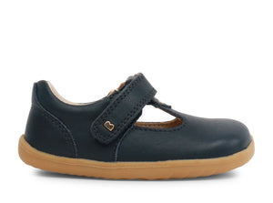 Bobux Step-Up Louise T-bar Navy