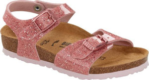 Birkenstock Rio Cosmic Sparkle Old Rose
