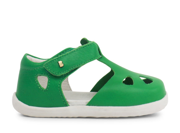 Bobux Step-up Zap Sandal Emerald Green
