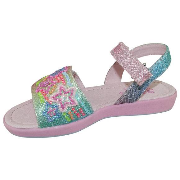 Lelli Kelly Rainbow Star Sandal