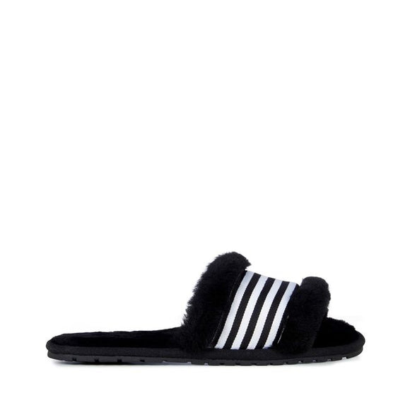 Emu Australia Wrenlette Black Slipper