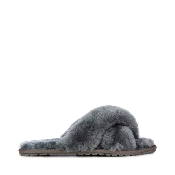 Emu Australia Mayberry Charcoal Slipper