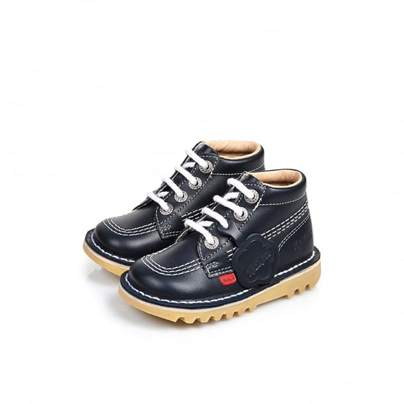 Kickers Kick Hi Classic Infant Navy