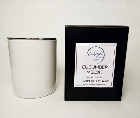 Cucumber Melon 10oz Soy Candle