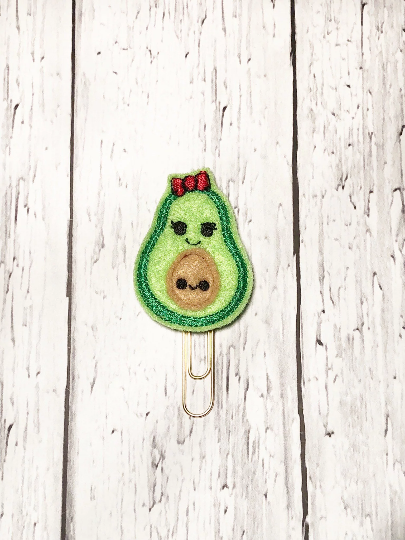 Avocado and Baby Paper Clip